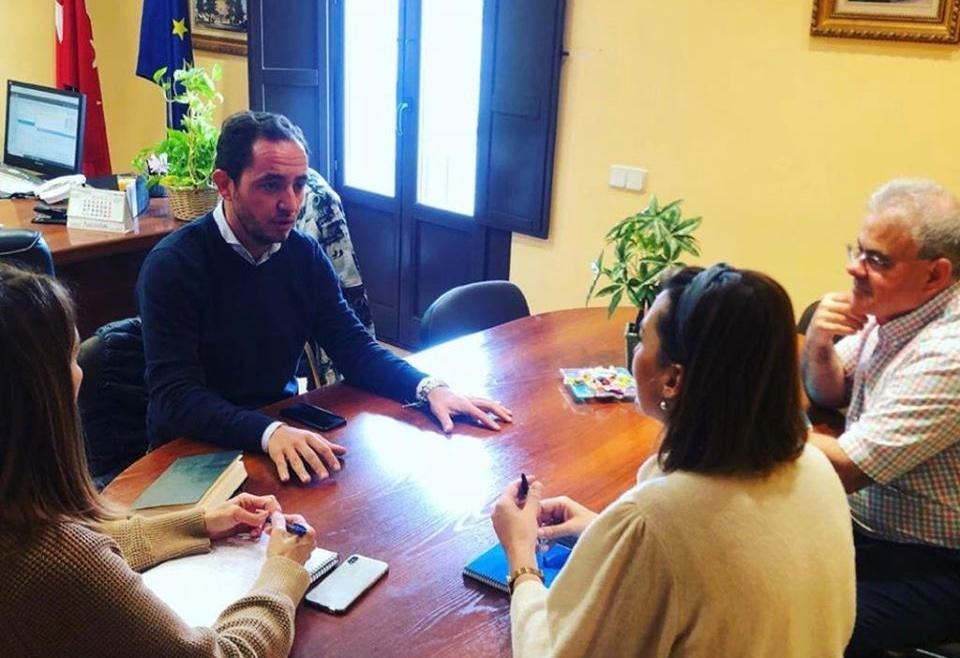 Visita del director de IMIDRA