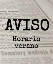 AVISO HORARIO ASISTENCIA AL PÚBLICO
