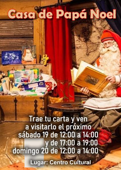 Casa de Papa Noel 2020